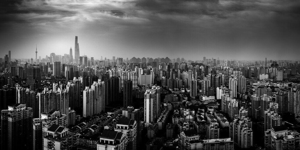 city in the Spotlight - Fineart photography by Rob Smith