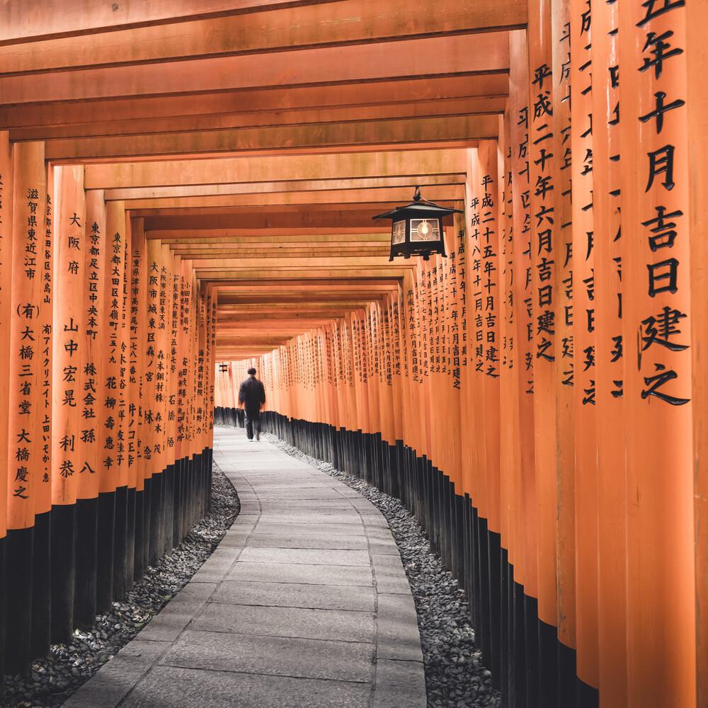 Fushimi Inari-Taisha Kyoto Japan - fotokunst von Ronny Behnert