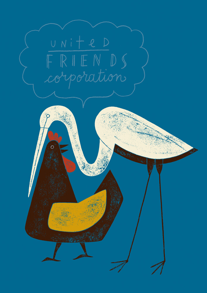United Friends Corporation - fotokunst von Jean-Manuel Duvivier