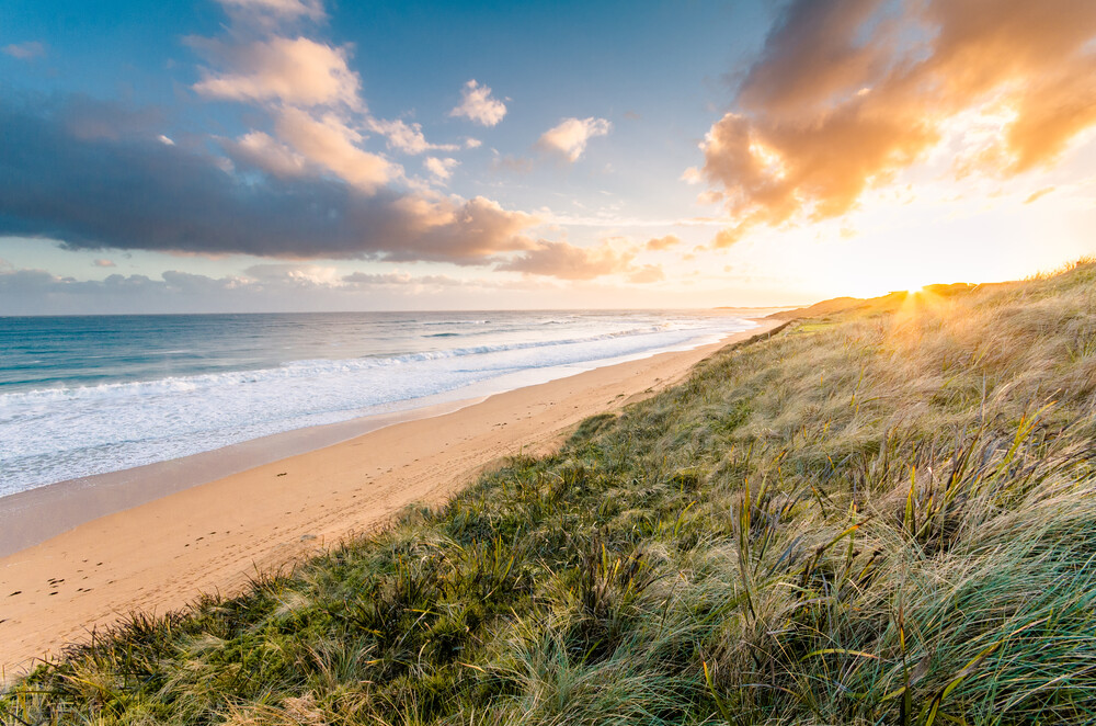 Golden Sunset - Fineart photography by Christian Seidenberg