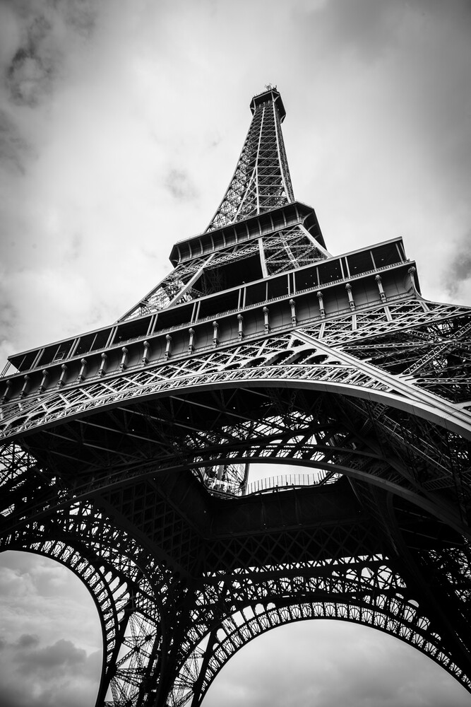 Tour Eiffel - fotokunst von Sebastian Rost