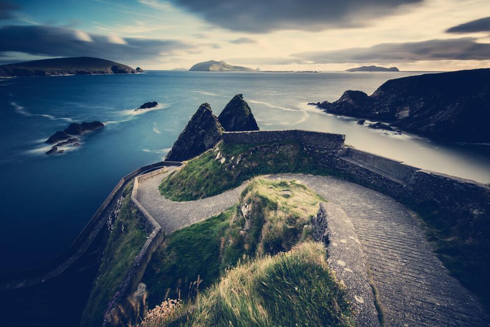 Weg zu den Blasket Inseln - fotokunst von Franz Sussbauer