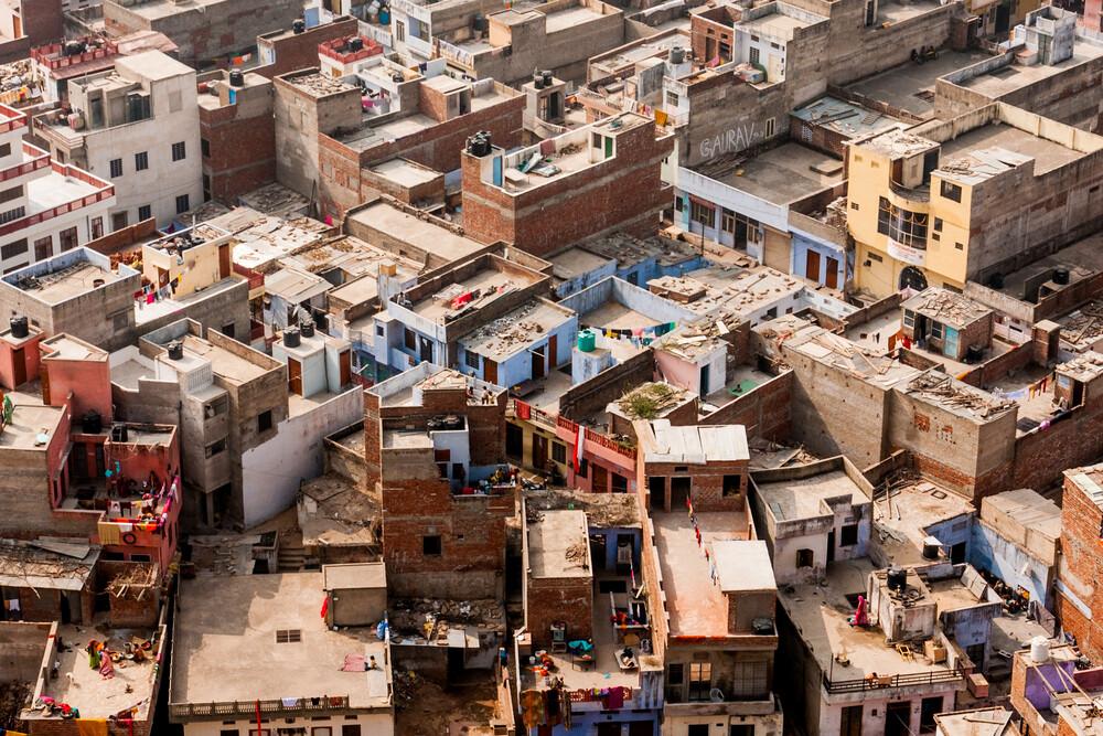 Jaipur Birdsview - fotokunst von Manuel Ferlitsch