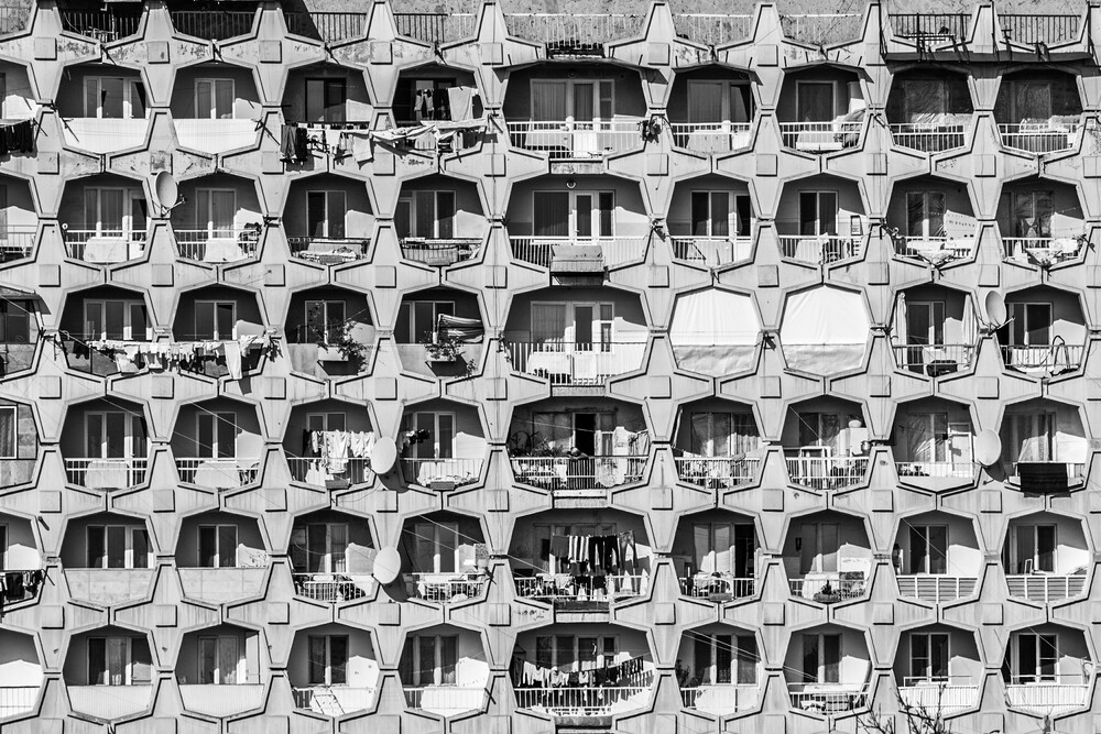 Soviet Architectur - Fineart photography by Tatevik Vardanyan