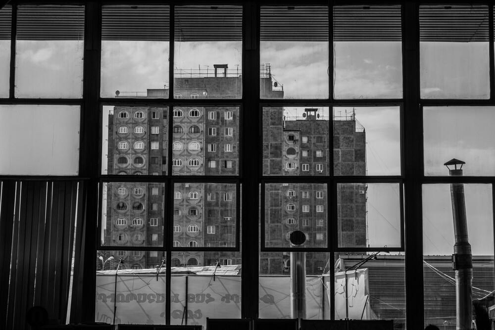Soviet Architecture - fotokunst von Tatevik Vardanyan