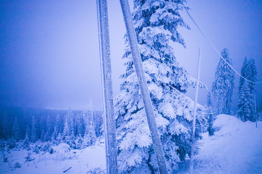 Eiswelt II - fotokunst von Jakob Berr