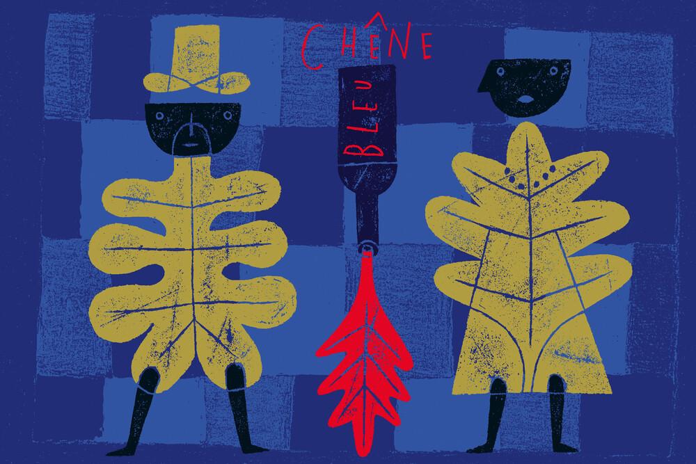 Chene Bleu - fotokunst von Jean-Manuel Duvivier