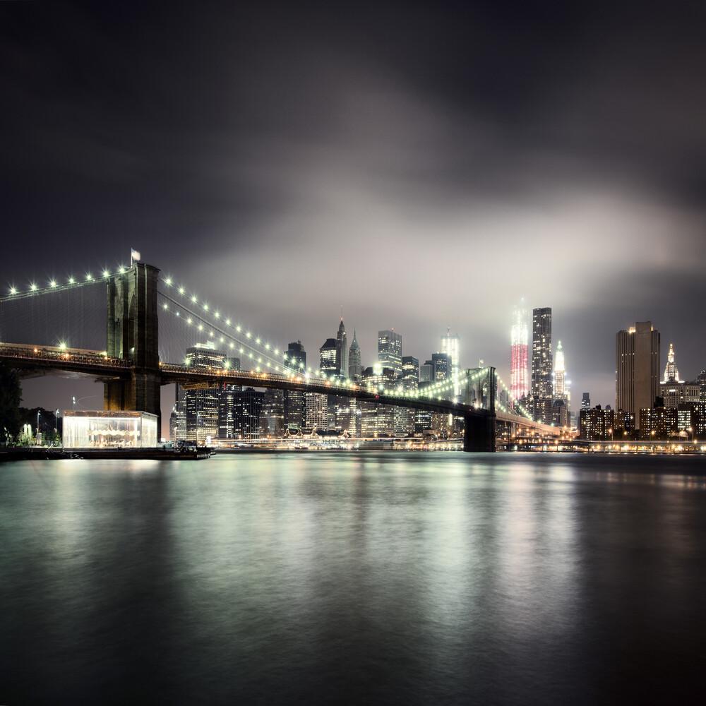 [Brooklyn Bridge - NYC],* 613 USA 2012 - fotokunst von Ronny Ritschel
