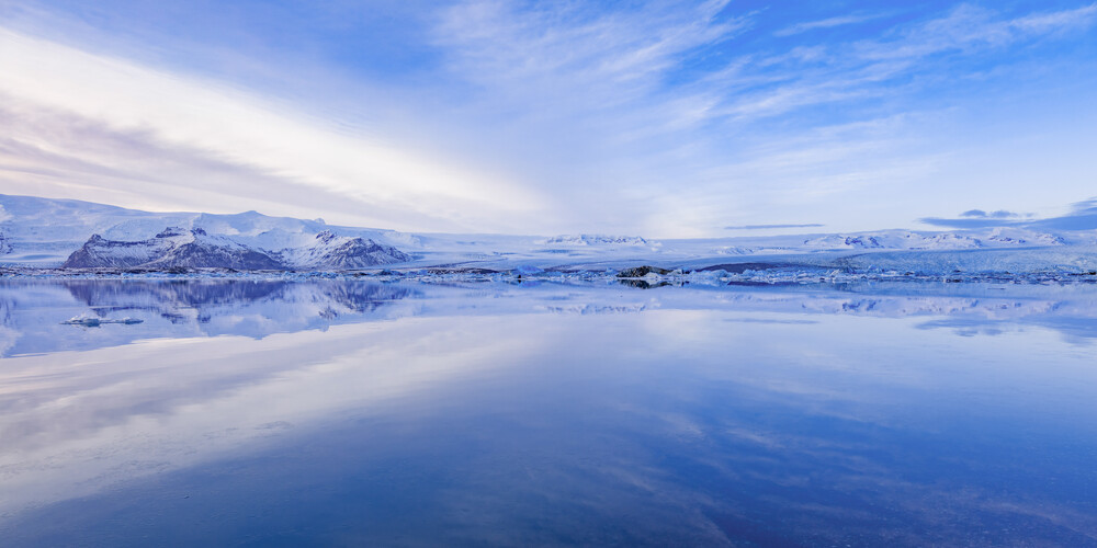 Die Gletscherlagune - fotokunst von Markus Van Hauten