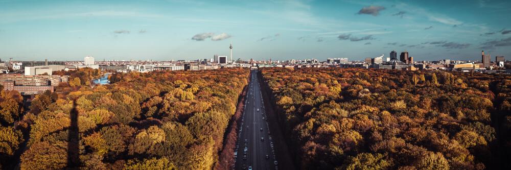 Berlin - Skyline - fotokunst von Jean Claude Castor