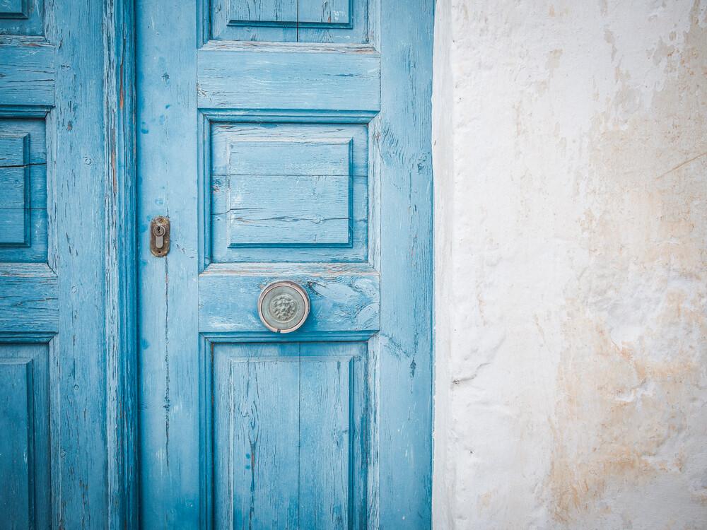 Minimalistic Santorini - 17 - fotokunst von Johann Oswald