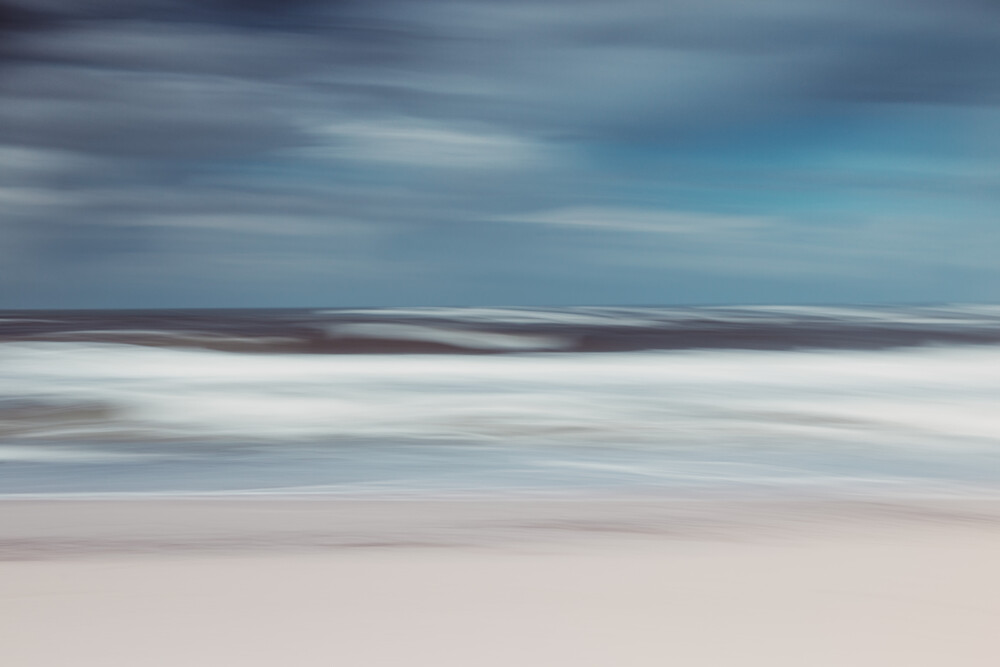 Küstenwetter - fotokunst von Holger Nimtz