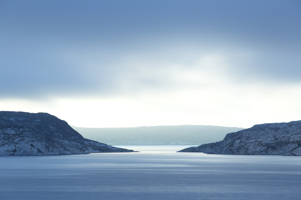Westküste von Grönland - faszinierende Bucht - fotokunst von Stefan Blawath