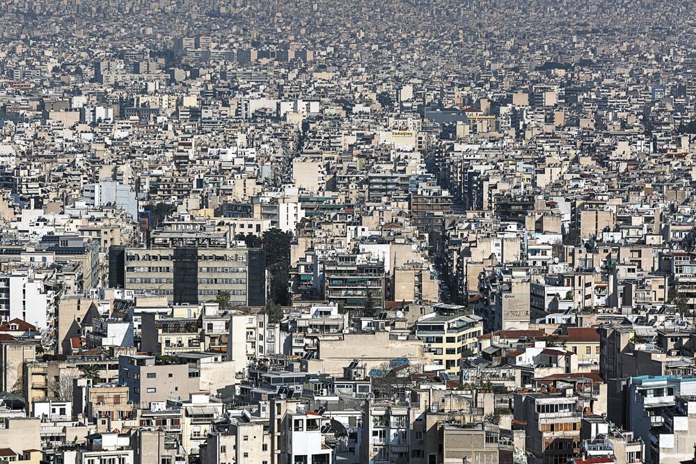 Athen - fotokunst von Michael Belhadi