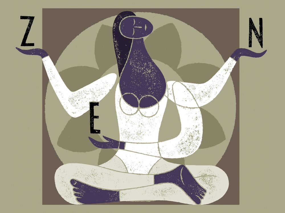 Zen - fotokunst von Jean-Manuel Duvivier