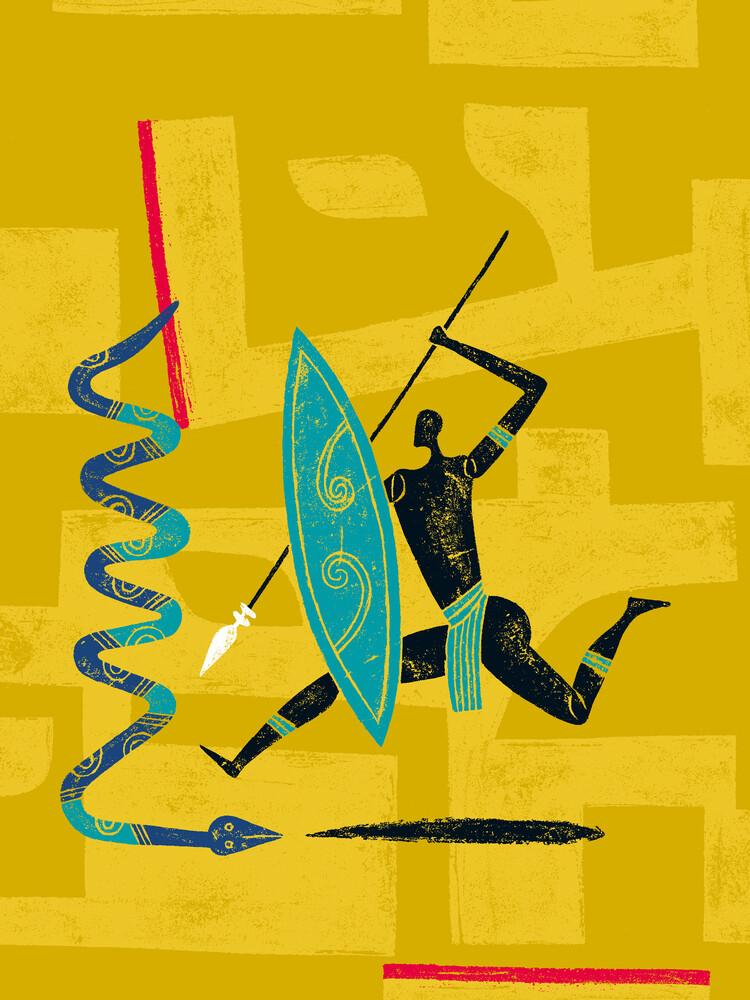 Zulu - fotokunst von Jean-Manuel Duvivier