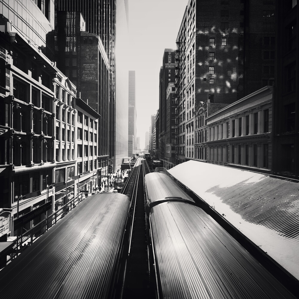 Wabash - Chicago - fotokunst von Ronny Ritschel