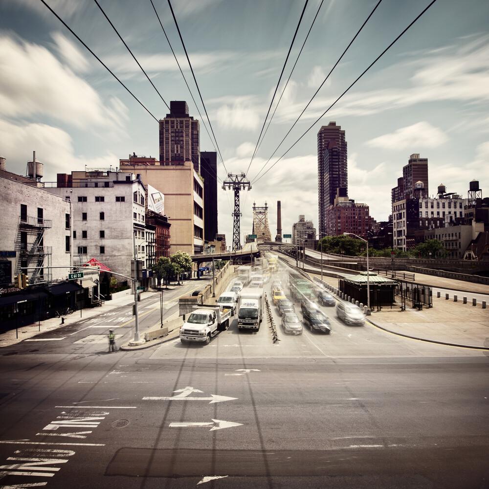 Queenboro Bridge - NYC - fotokunst von Ronny Ritschel