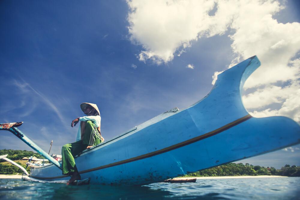 Boat man - fotokunst von Christian Göran