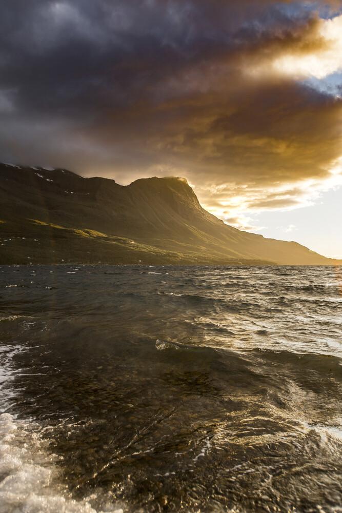 Sunset mountain - Fineart photography by Christian Göran