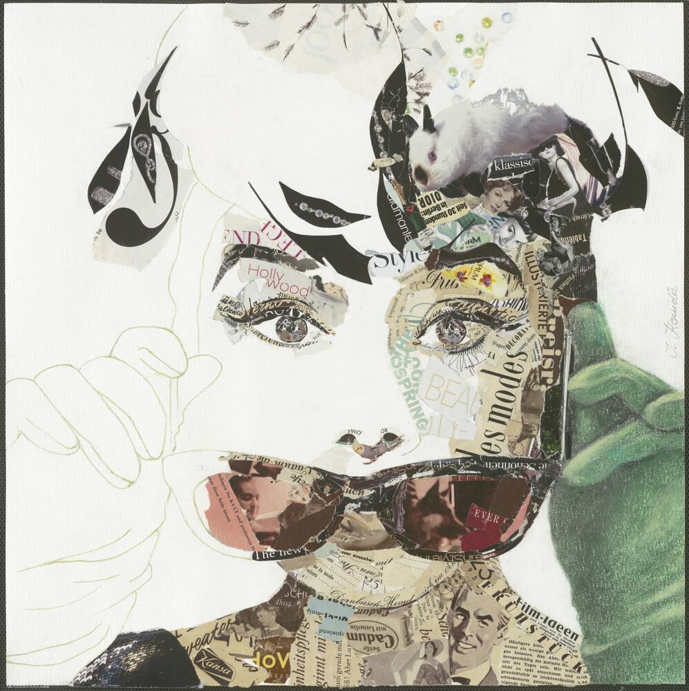 Audrey - fotokunst von Ines Kouidis