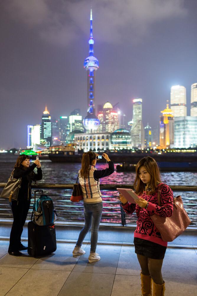 Shanghai Selfie - fotokunst von Arno Simons