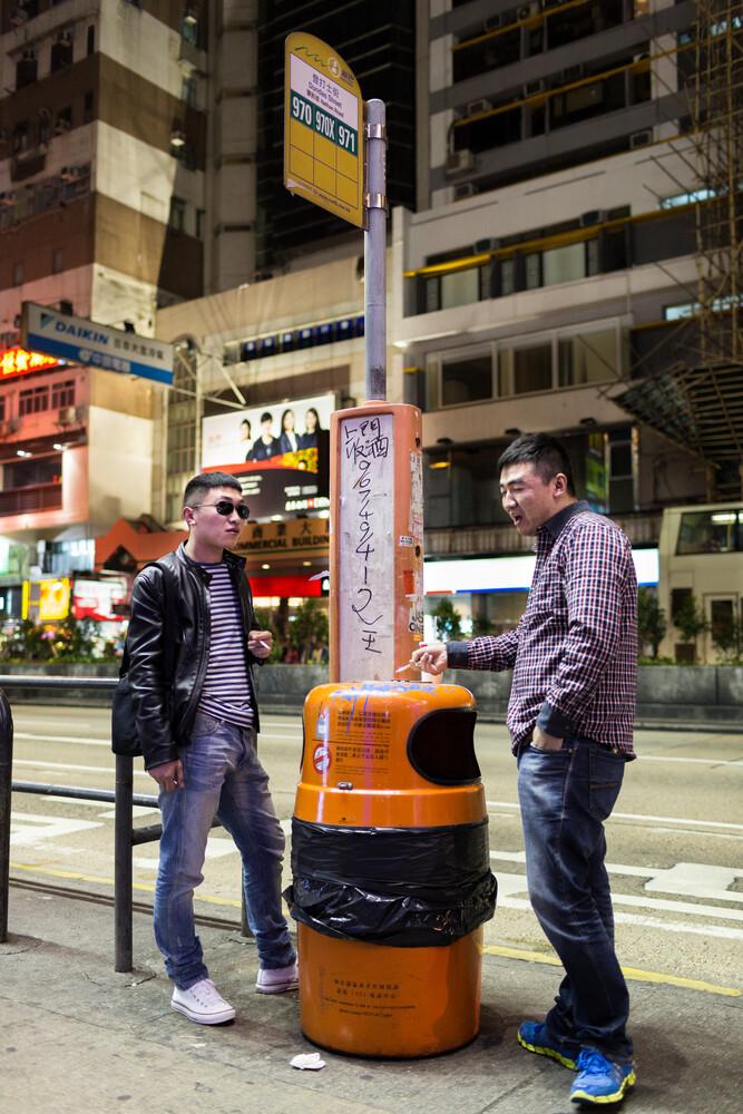 Hong Kong Chat - fotokunst von Arno Simons