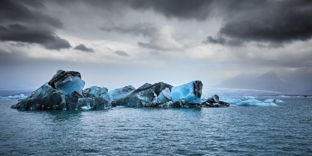 Jökulsárlón glacier lagoon, Iceland - fotokunst von Norbert Gräf