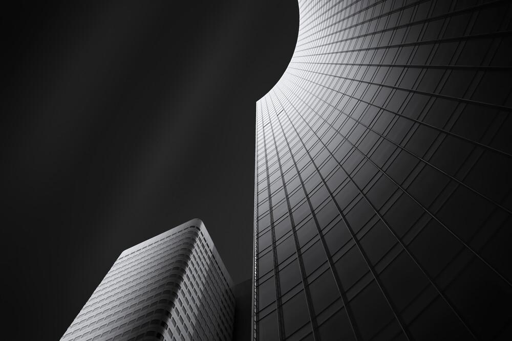 Black:Steel:Glass #1 - fotokunst von Martin Schmidt