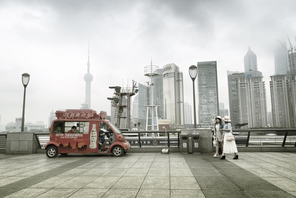 The Bund - Shanghai - fotokunst von Rob van Kessel