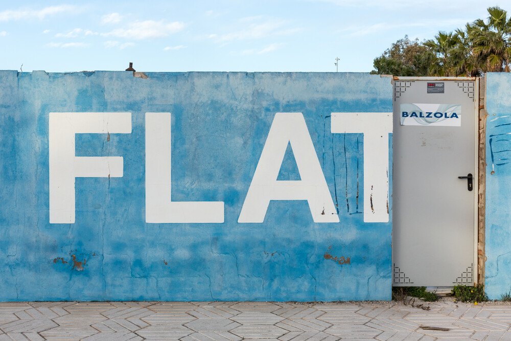 Flat! - Fineart photography by Arno Simons
