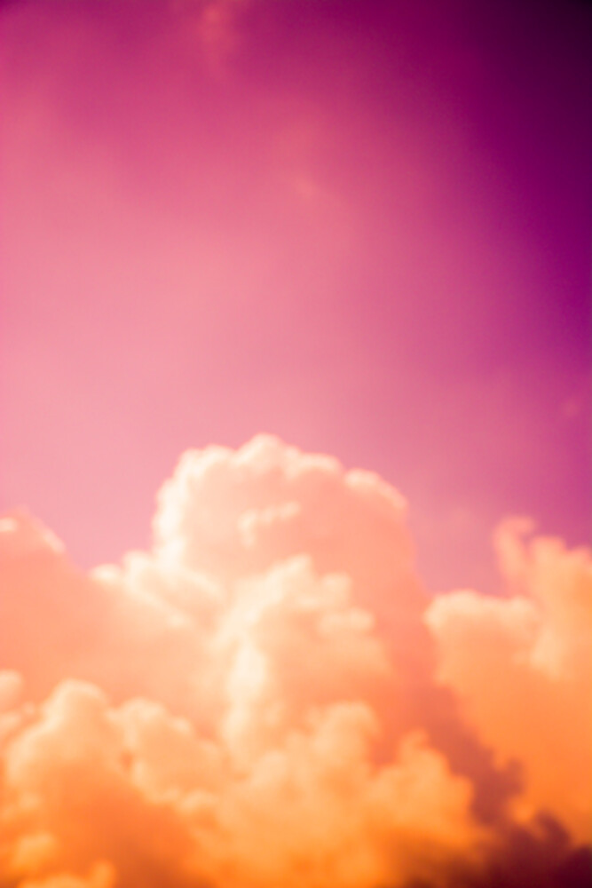 Clouds III - fotokunst von Tal Paz Fridman