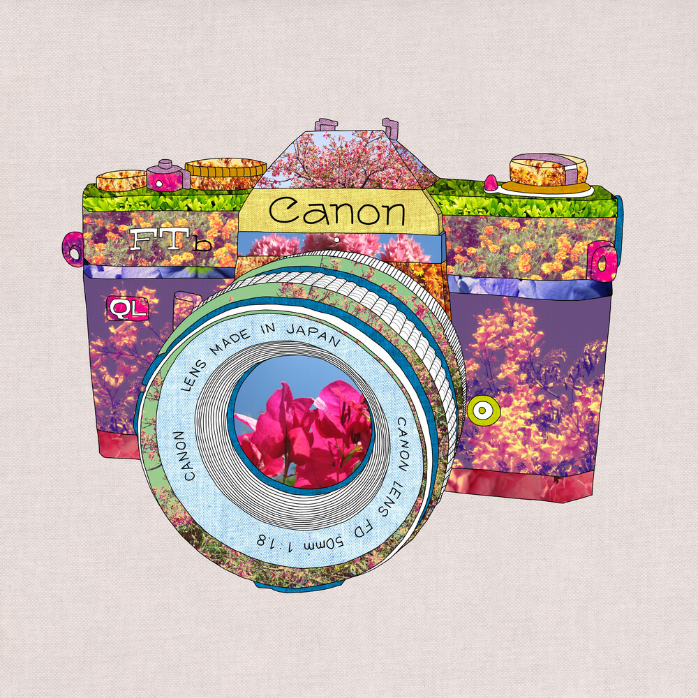 Floral Canon - fotokunst von Bianca Green