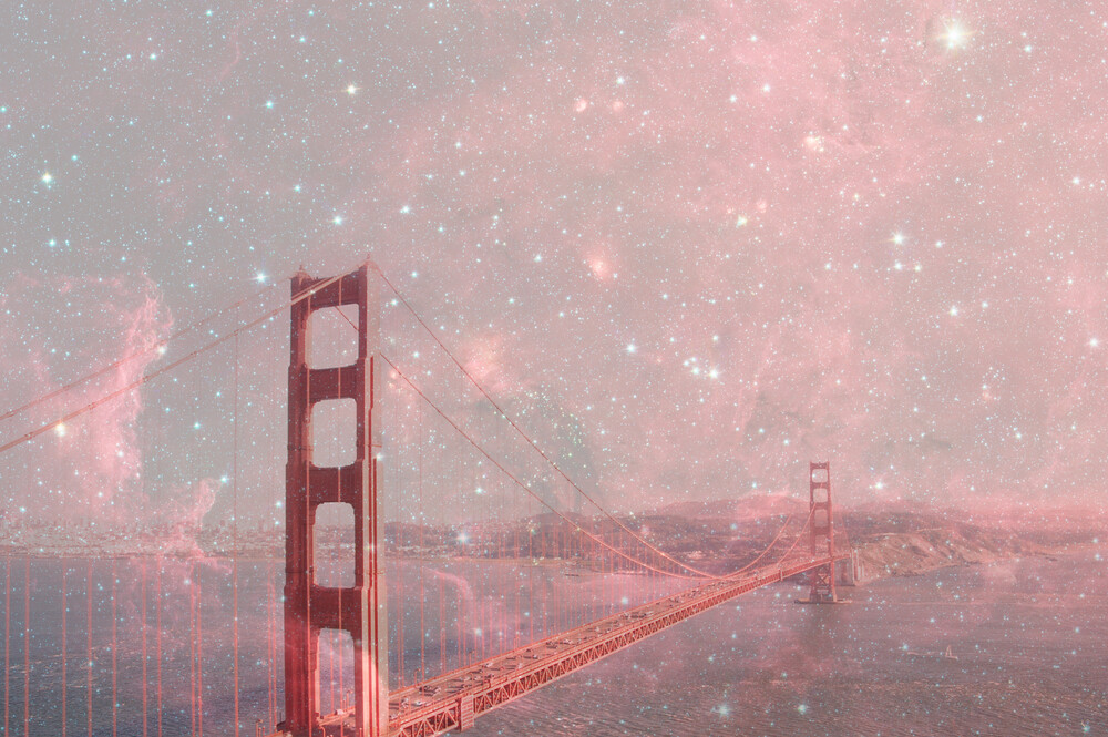 Stardust Covering SF - Fineart photography by Bianca Green