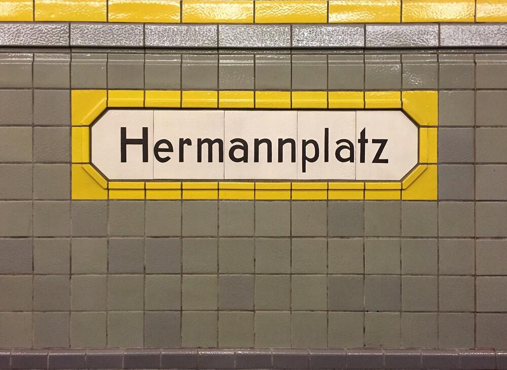 Hermannplatz - fotokunst von Claudio Galamini