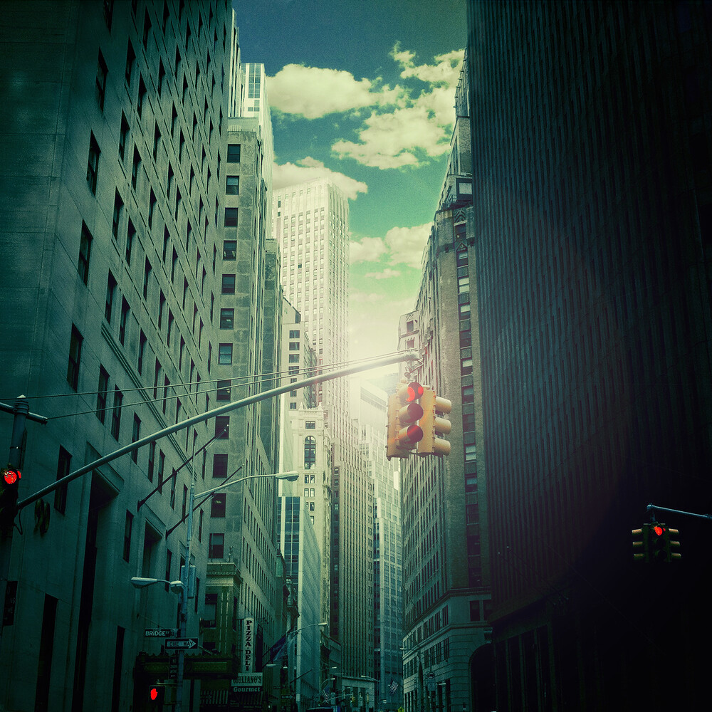 downtown - Fineart photography by Ambra