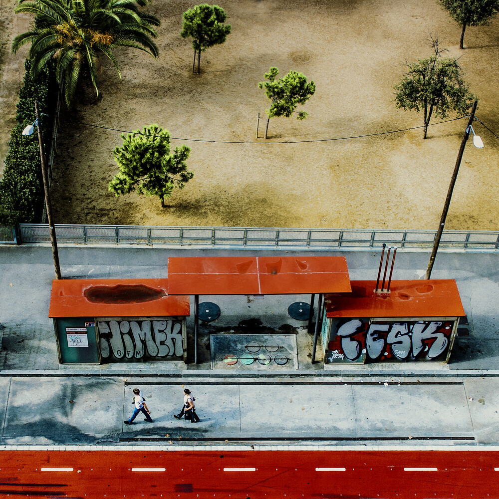 paint it red - fotokunst von Ambra
