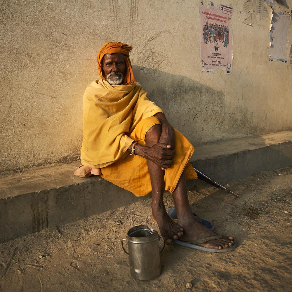 Sadhu - fotokunst von Barbara Flesch