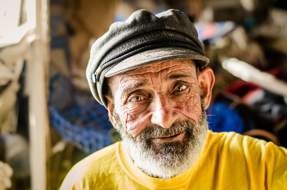 Sharif - the old man and the sea - fotokunst von Marco Entchev
