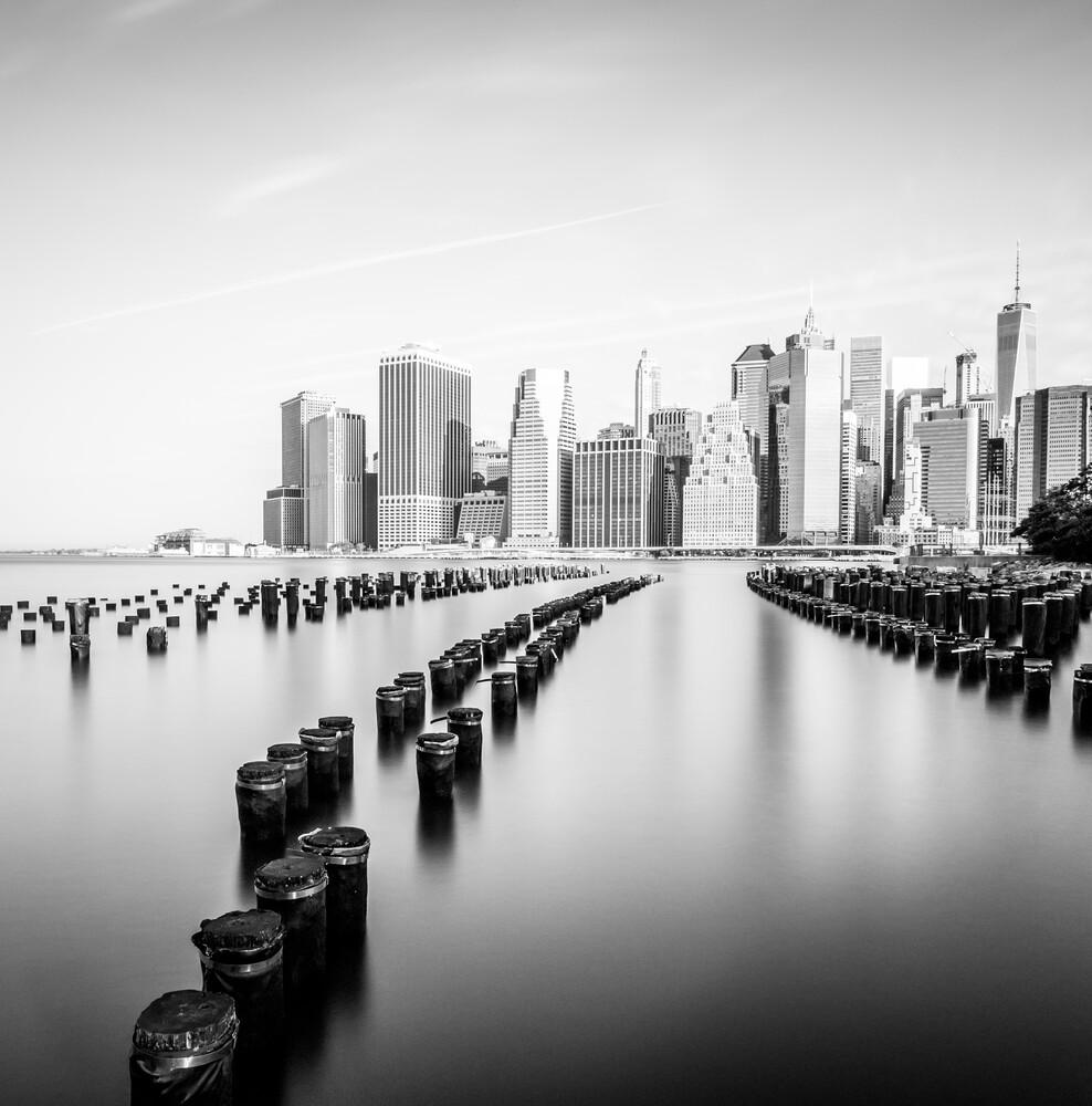 MANHATTAN SKYLINE - NYC - fotokunst von Christian Janik