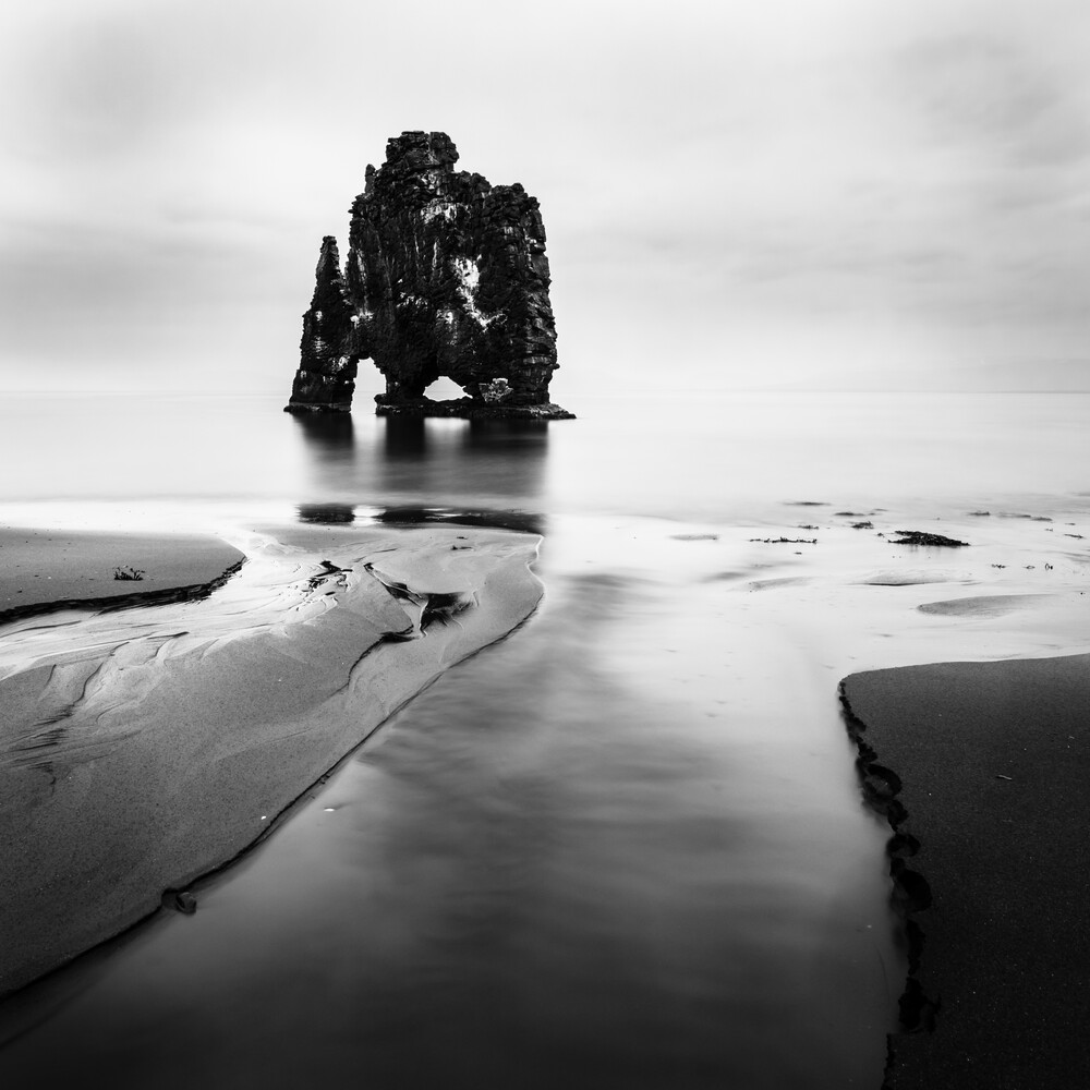 HVITSERKUR - ICELAND - fotokunst von Christian Janik