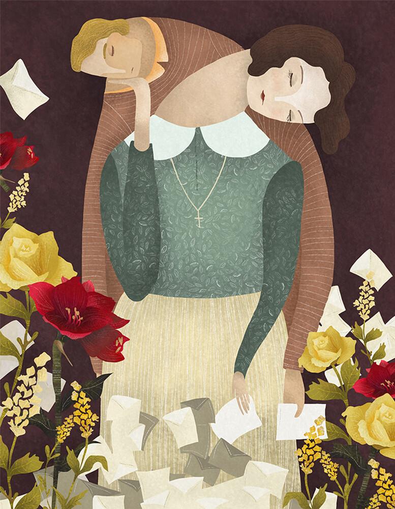 LOVE IN THE TIMES OF CHOLERA - fotokunst von Amalia Restrepo