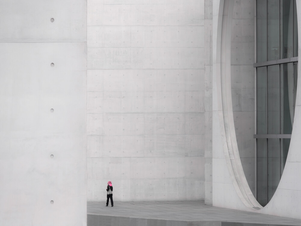 pink - fotokunst von Klaus Lenzen