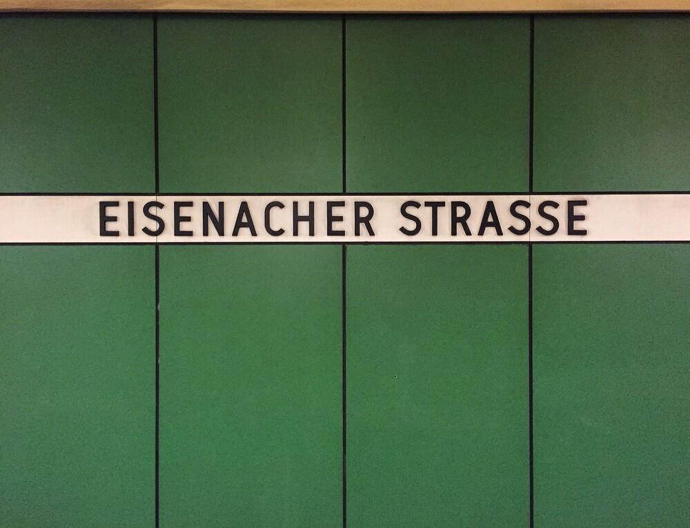 Eisenacher Strasse - fotokunst von Claudio Galamini
