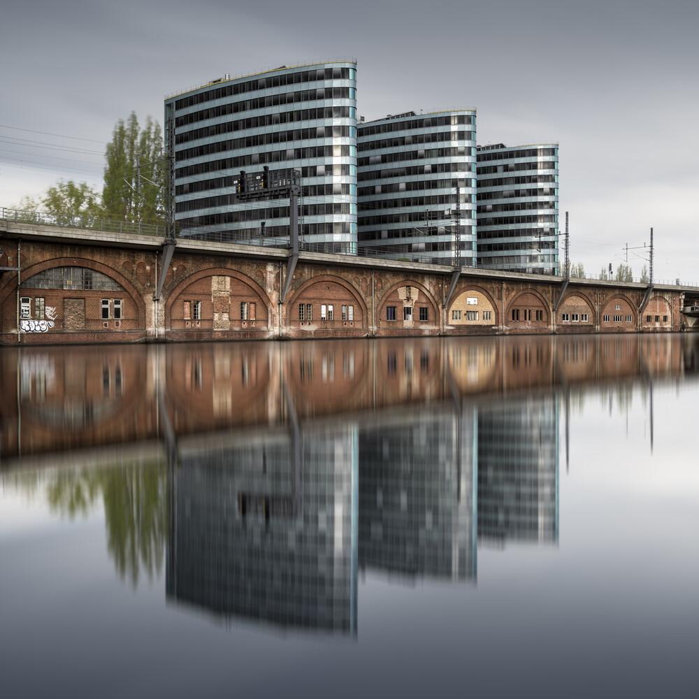 Trias Towers Berlin - fotokunst von Ronny Behnert