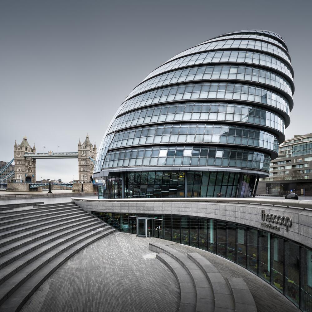 City Hall - London - Fineart photography by Ronny Behnert