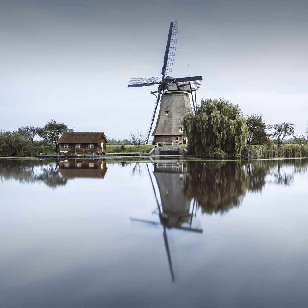 Kinderdijk Study 2 - Niederlande - fotokunst von Ronny Behnert