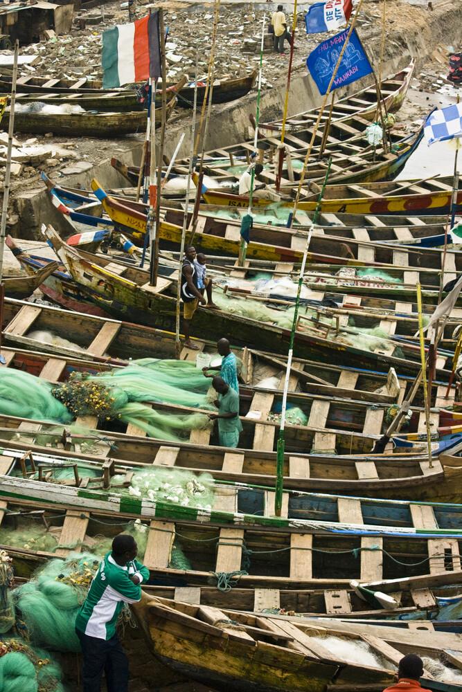 Fishermen - Fineart photography by Antonia Bartning