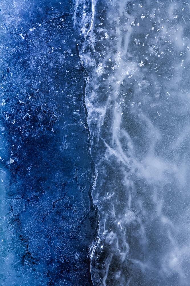 Ice Art #214 - fotokunst von Sebastian Worm