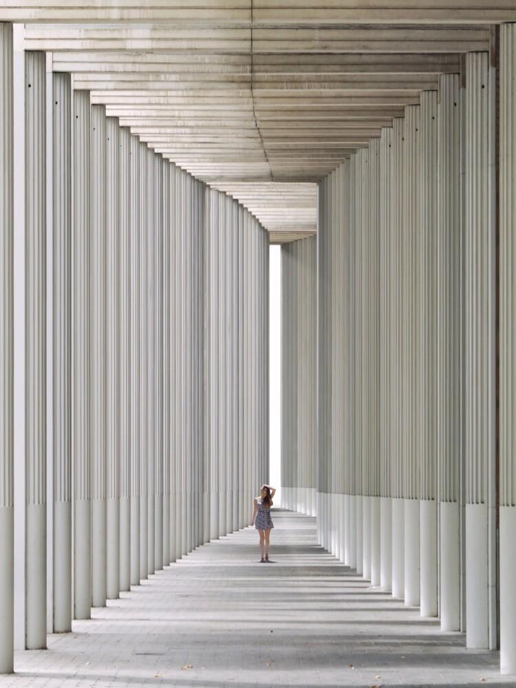 Tunnel of light Pt.3 - fotokunst von Roc Isern